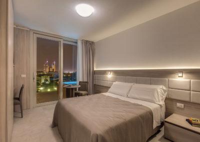 Jacuzzi® nel terrazzo di ogni suite